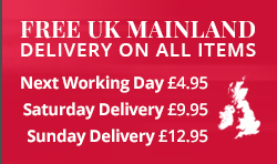 Free UK delivery on all items